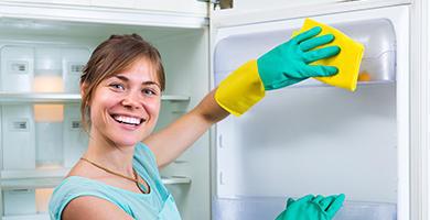 6 krokov ako vyčistiť chladničku