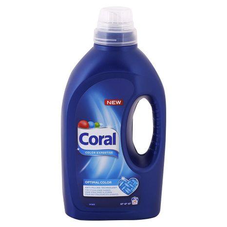 CORAL Optimal Color gél na farebné prádlo 1,375 l / 25 praní