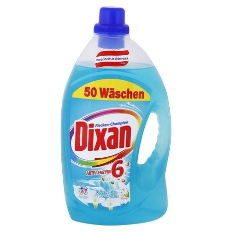 DIXAN gél na pranie s vôňou Ľalie a Bielej Kaly 3,65 l / 50 praní