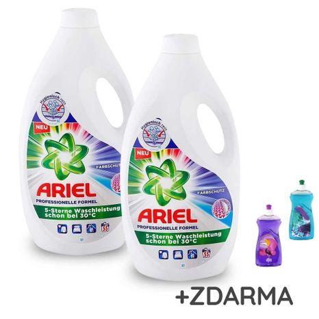 DUOPACK ARIEL Professional Colour gél na farebné pranie 2 x 55 praní