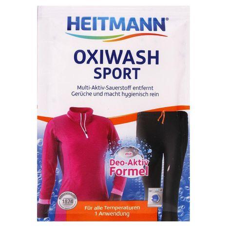 HEITMANN prací prášok na pranie športového oblečenia 50 g