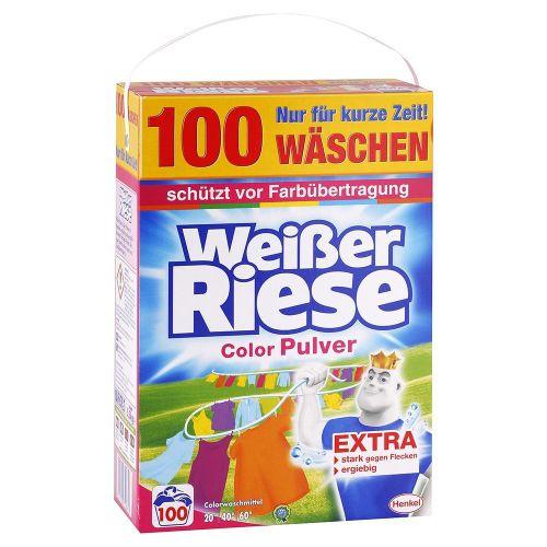 WEISSER RIESE Color prášok na pranie farebnej bielizne 5,5 kg / 100 praní